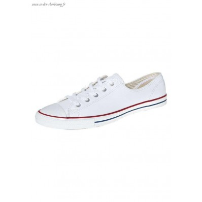 basket blanche femme style converse