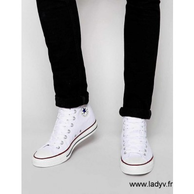 converse all star blanche homme