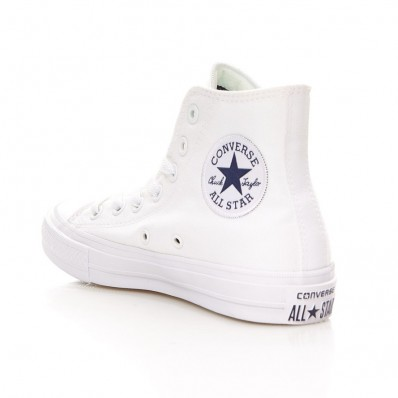 converse all star femme blanche montante