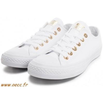 converse blanc or