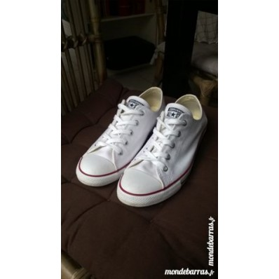 converse blanche 40