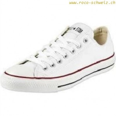 converse blanche basse femme all star