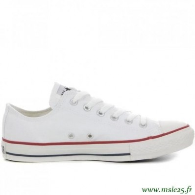 converse blanche basse femme taille 39
