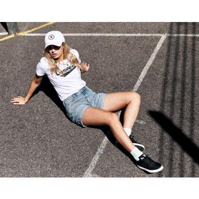 converse blanche femme sport direct