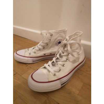 converse blanche femme vinted