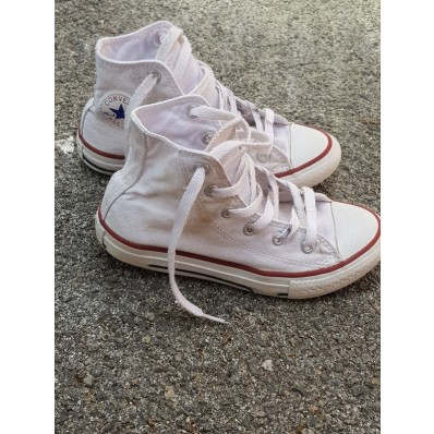 converse blanche taille 31