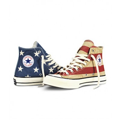 converse drapeau americain