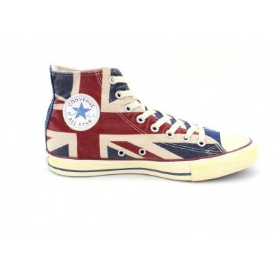 converse femme drapeau anglais