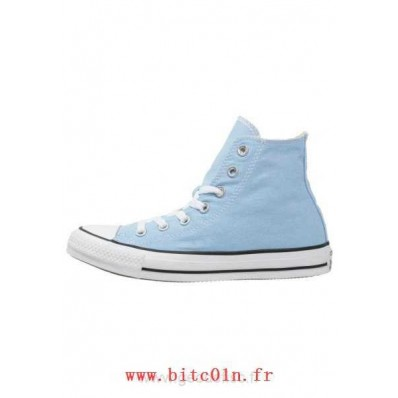 converse femmes bleu clair