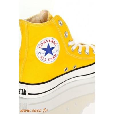 converse femmes jaune orange