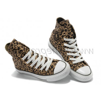 converse femmes leopard