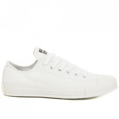 converses blanches basses femme cuir