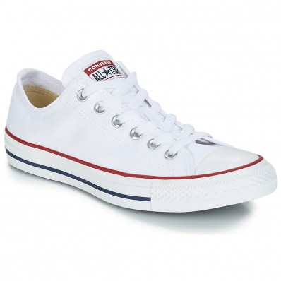 converses blanches basses taille 34