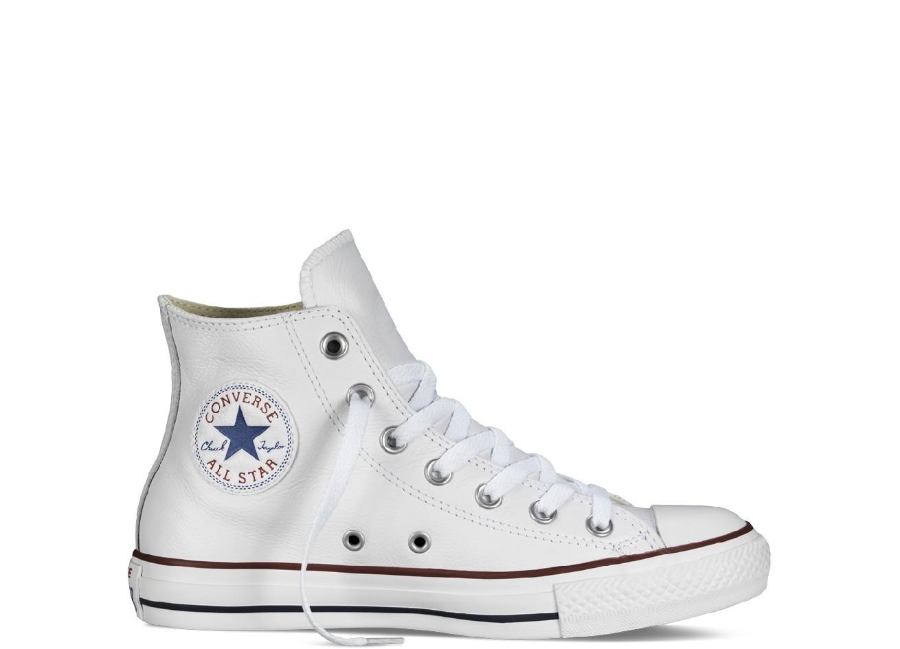 converse all star blanche montante