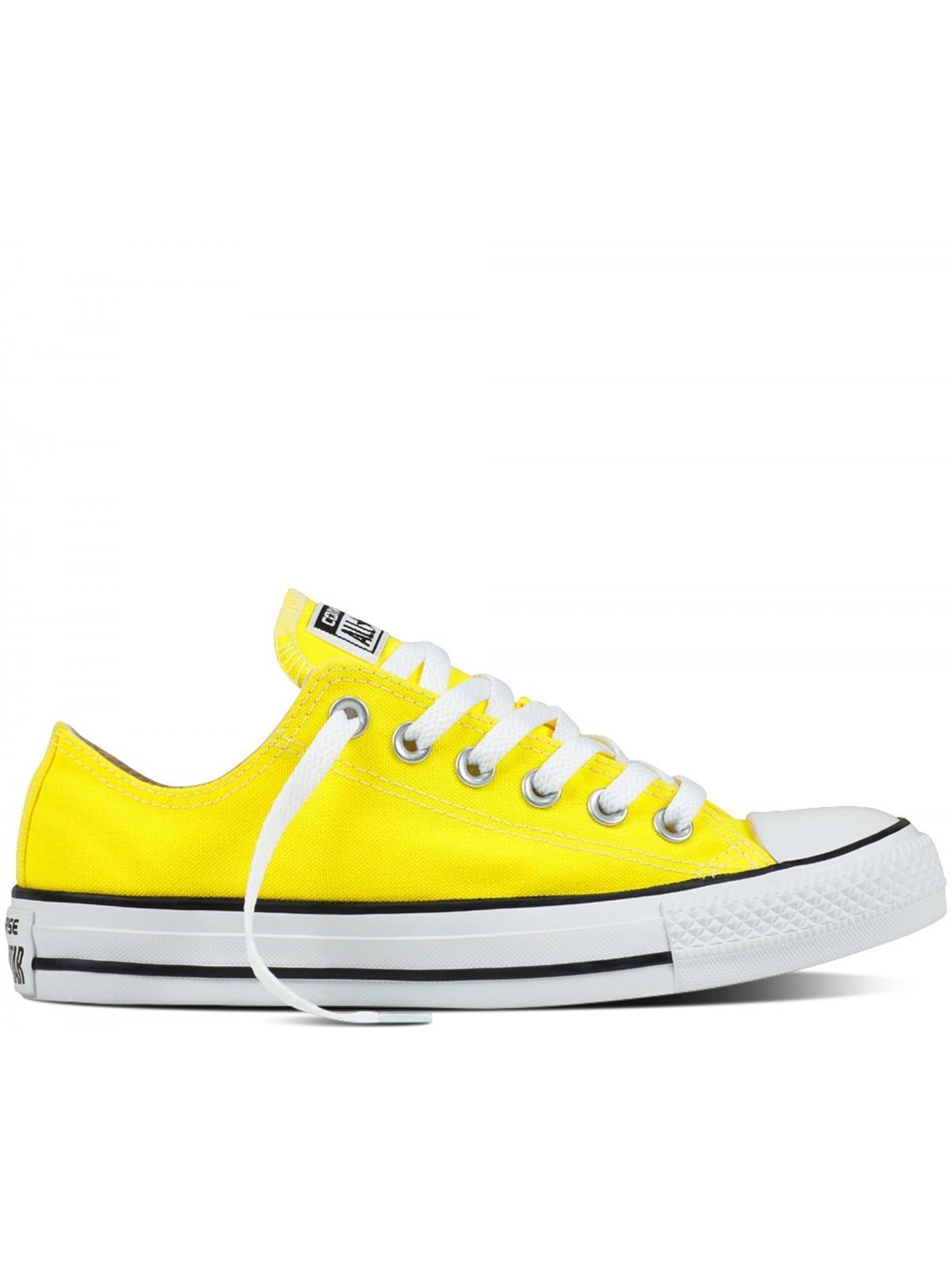 converse basse jaune moutarde