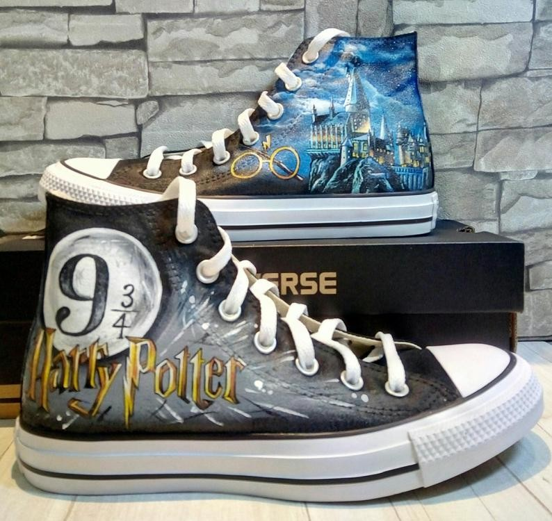 basket converse harry potter