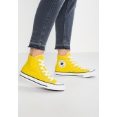 converse all star montante jaune