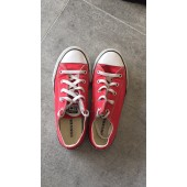 converse basse rouge taille 35
