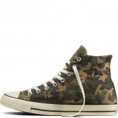converse camouflage femme