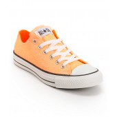 converse orange neon