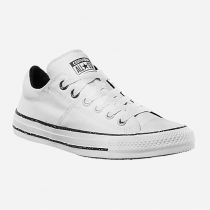 converse basse blanche toile femme
