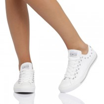 converses basses blanches 38