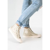 converses blanches montantes femme
