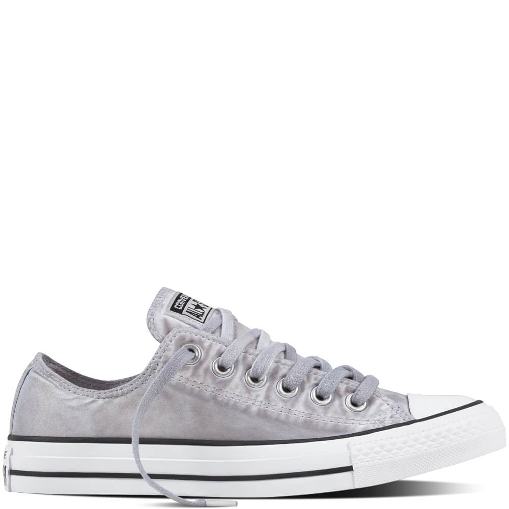 converse all star femme basse grise