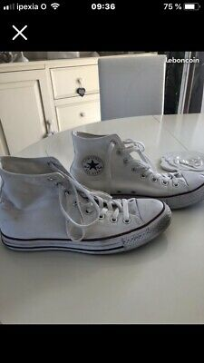 converse femme blanche taille 40